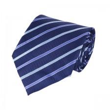 KLASIK kravata tmavá pásikavá