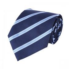 KLASIK kravata modro-bledá