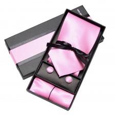 Kravatový set Ružový