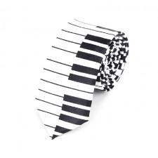 SLIM kravata klavír