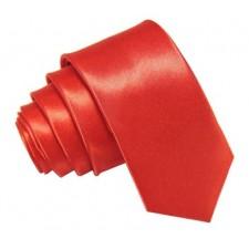 SLIM Kravata červená