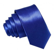 SLIM Kravata modrá
