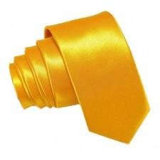 SLIM Kravata žltá